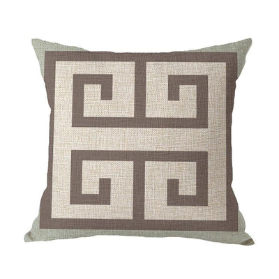 Coastal Geometric Collection-Pillow Cover-Style 4-Coastal Passion
