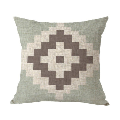 Coastal Geometric Collection-Pillow Cover-Style 5-Coastal Passion