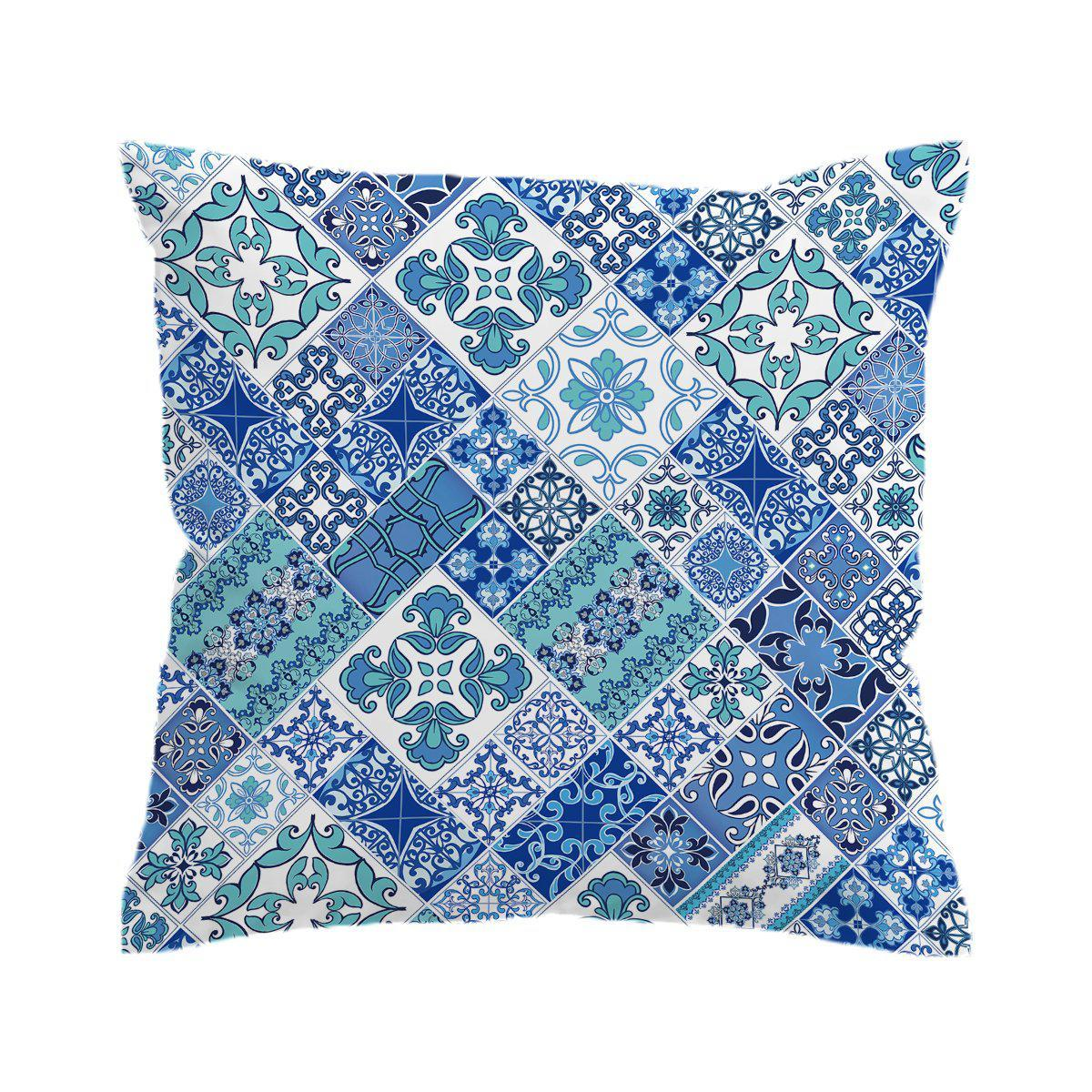 Coastal Mosaic Pillow Cover-Coastal Passion