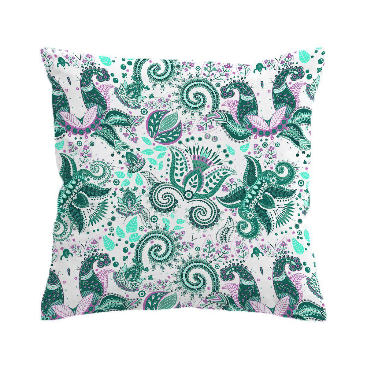 Coastal Paisley Pillow Cover-Coastal Passion