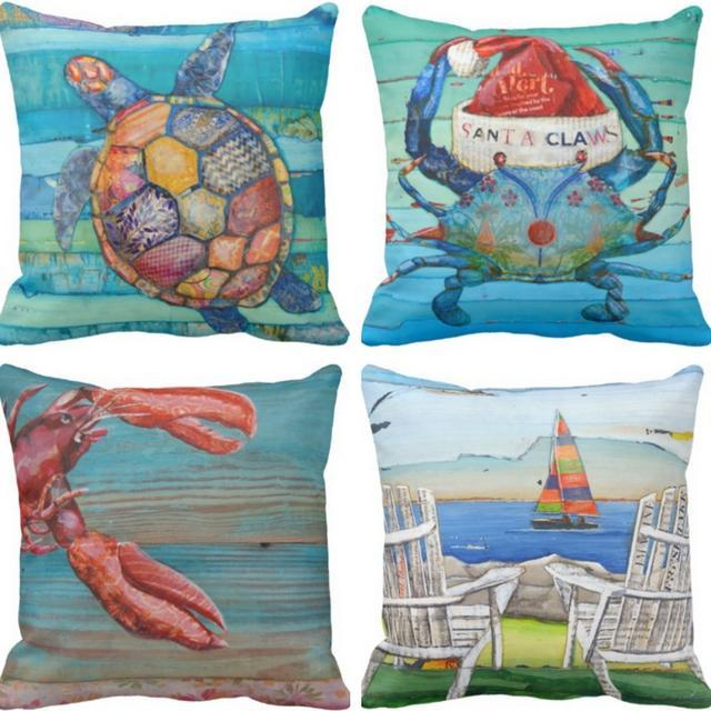 Coastal Vibe Series-Pillow Cover-Coastal Passion