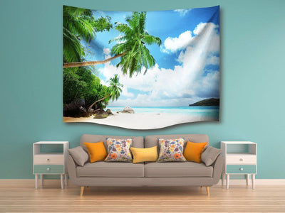 Coconut Beach Wall Tapestry--Coastal Passion