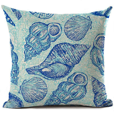 "Colorful Dreams Collection-Pillow Cover-Design 8-17"" x 17""-Linen Blend-Coastal Passion"