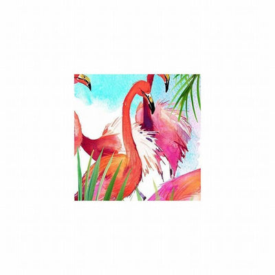 Colorful Flamingo Pillow Cover-Pillow Cover-Coastal Passion