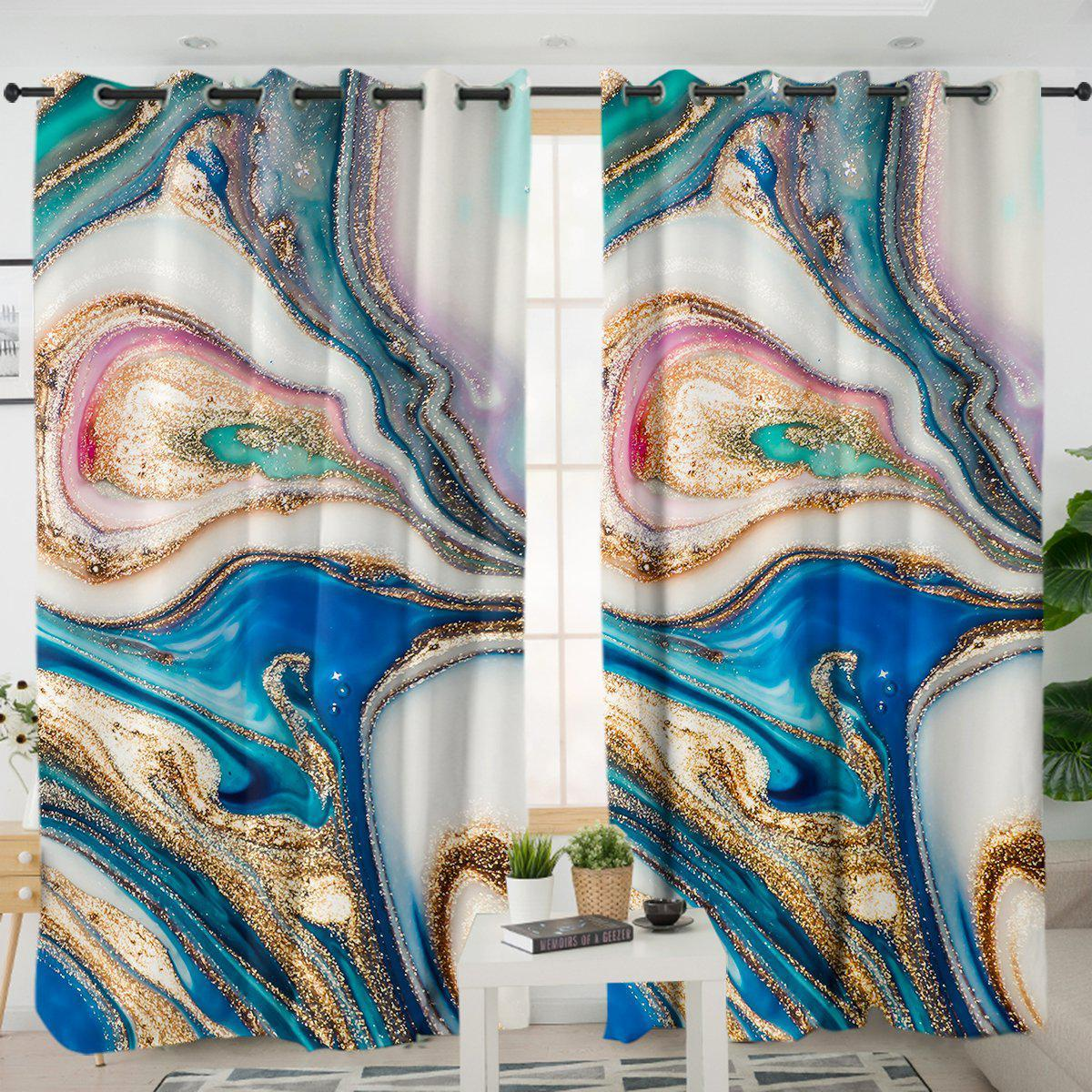 Copacabana Curtains-Coastal Passion