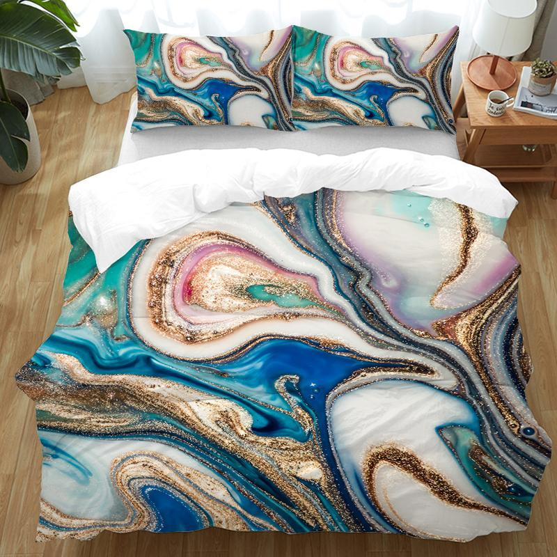 Duvet Comforter Bedding Set-Copacabana Duvet Cover Set-Coastal Passion