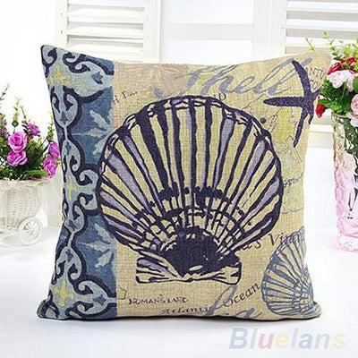 Coral Springs-Pillow Cover-Coastal Passion