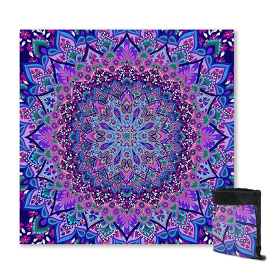 Sand Free Beach Towel-Cosmic Bohemian Sand Free Towel-Coastal Passion