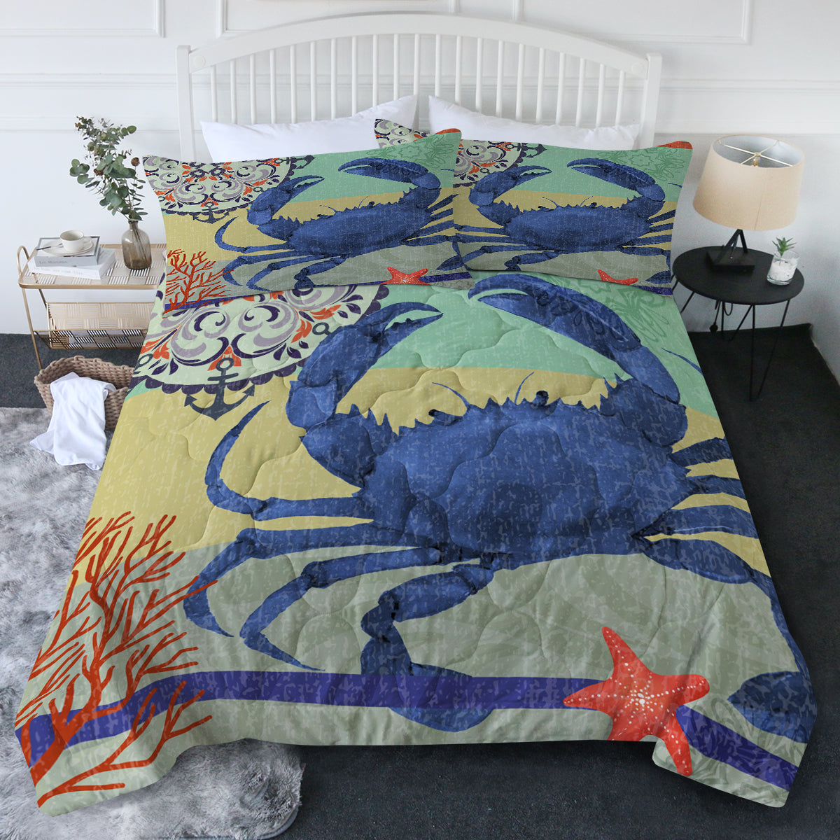Crab Passion Comforter Set