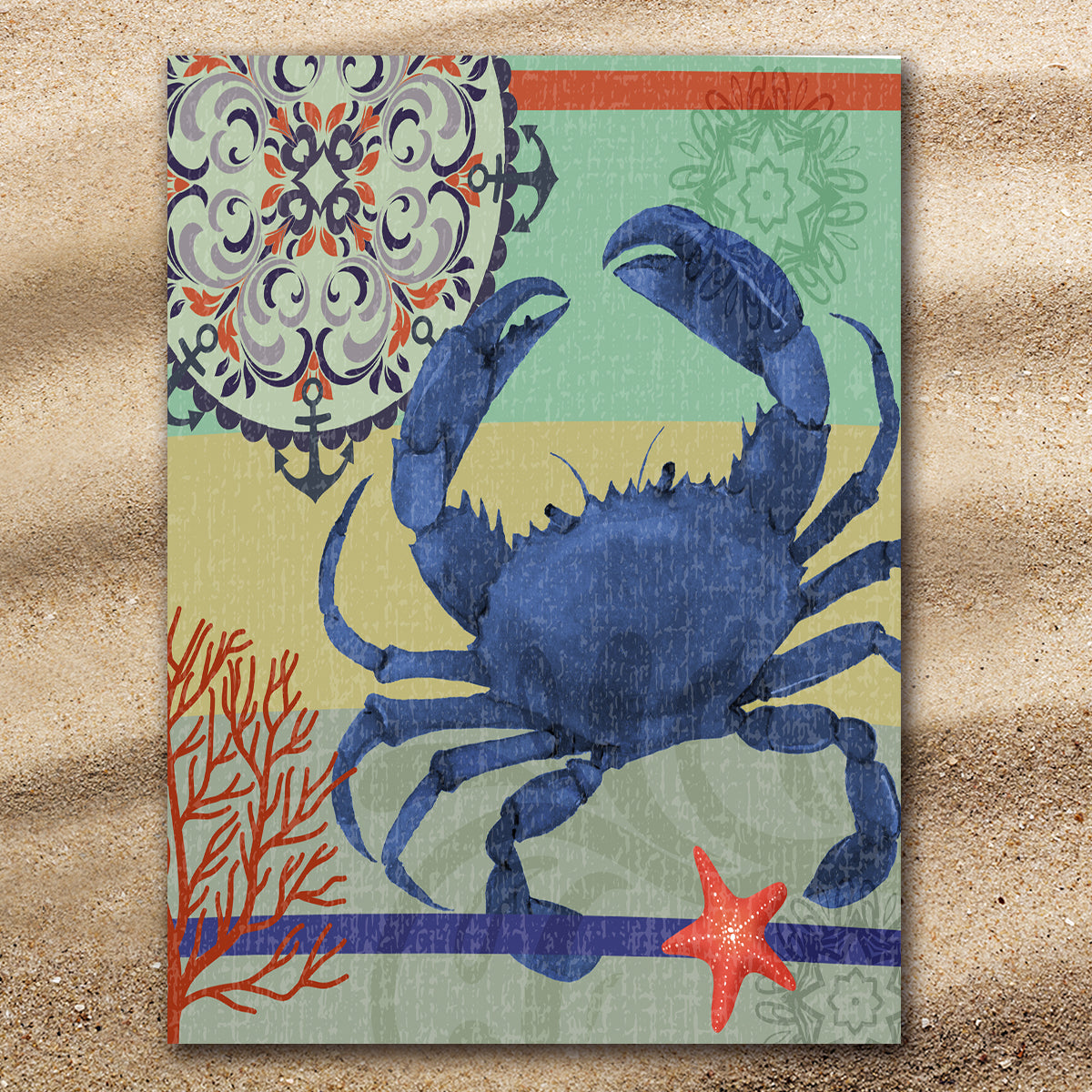 Crab Passion Extra Large Towel