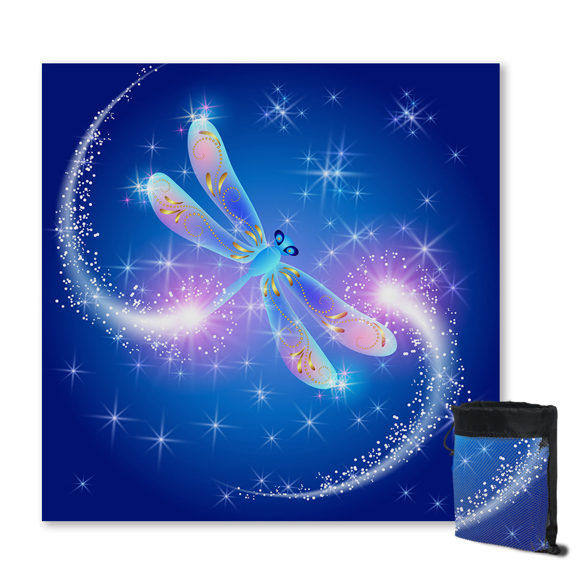 Dragonfly Magic Sand Free Towel