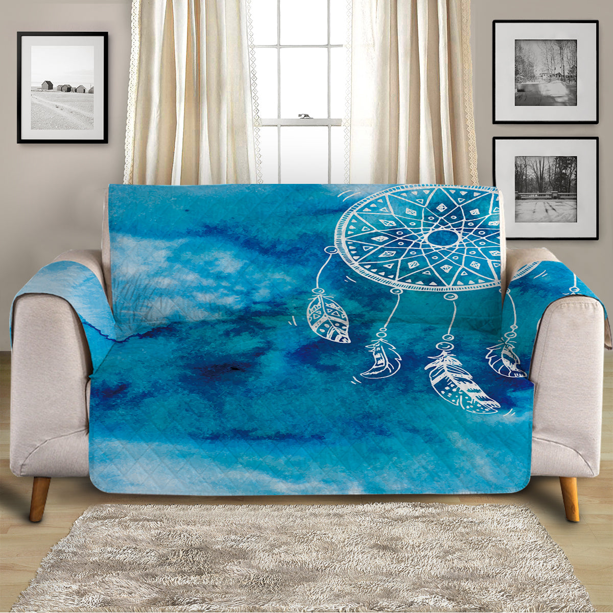 Ocean Dreaming Sofa Cover