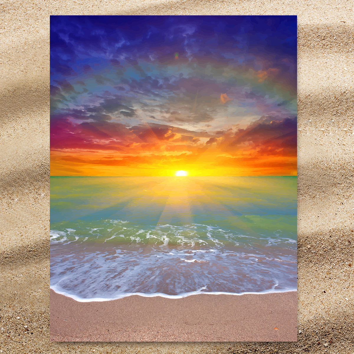 Sunset Beach Extra Large Towel