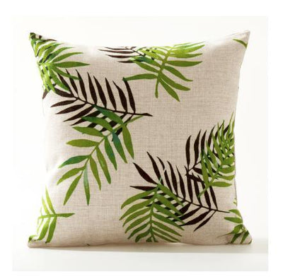 Flamenco Beach Collection-Pillow Cover-Design 4-Standard: Linen Blend-Coastal Passion