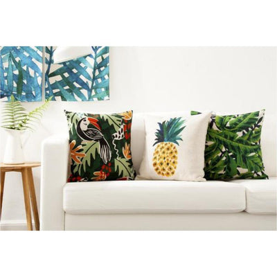 Flamenco Beach Collection-Pillow Cover-Coastal Passion