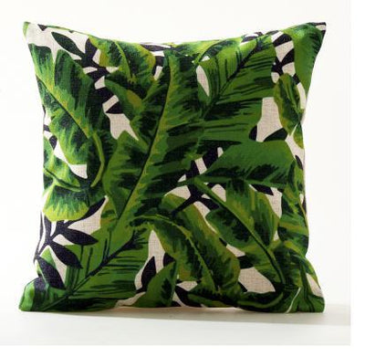 Flamenco Beach Collection-Pillow Cover-Design 6-Standard: Linen Blend-Coastal Passion