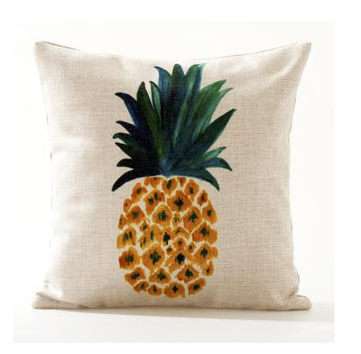 Flamenco Beach Collection-Pillow Cover-Design 7-Standard: Linen Blend-Coastal Passion