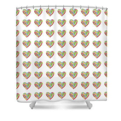 "Flip Flops Lovers Shower Curtain-Shower Curtain-35"" x 70""-Coastal Passion"