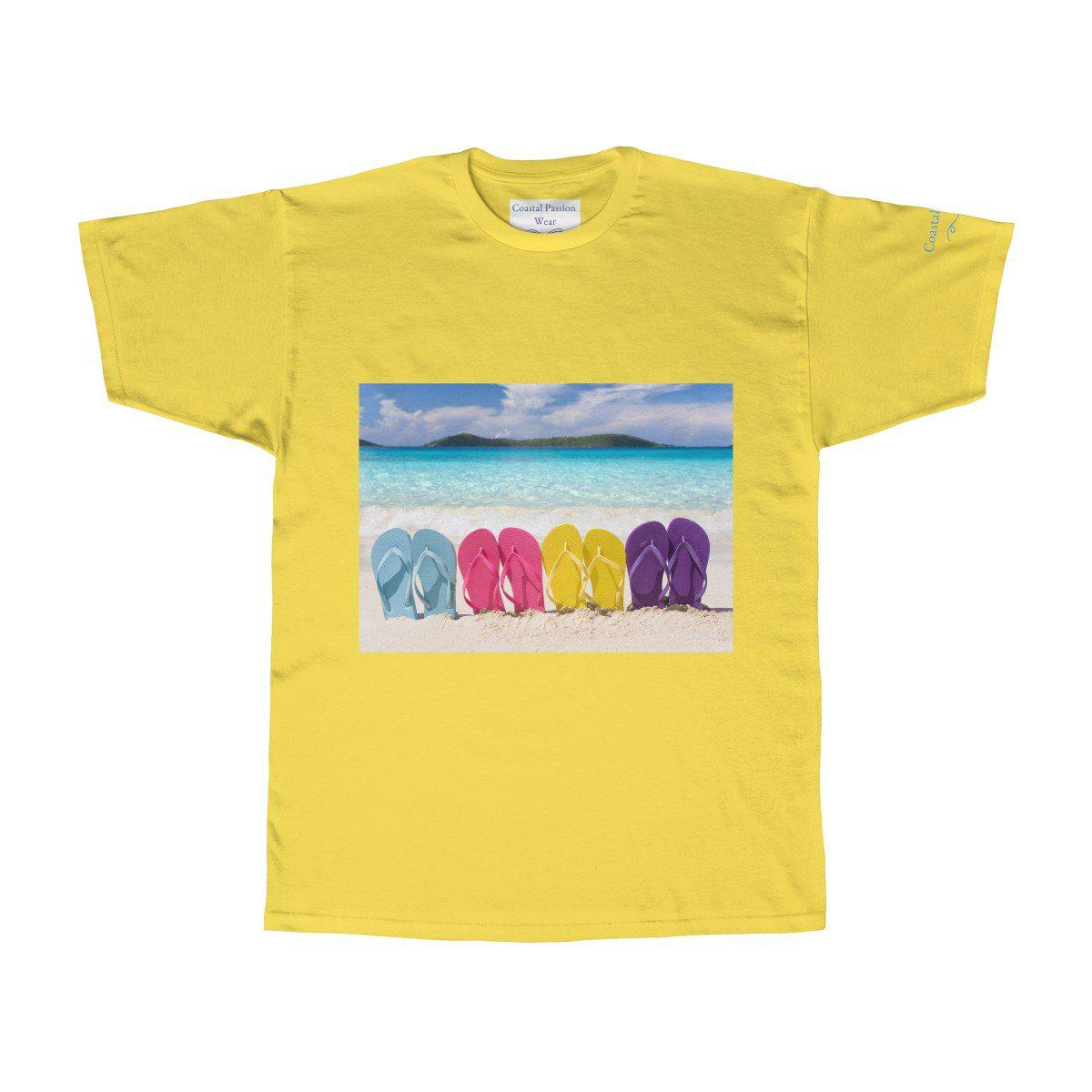 Flip Flops State of Mind Tee-T-Shirt-Banana-S-Coastal Passion