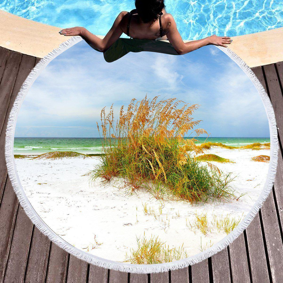 Florida Dreaming Round Beach Towel Collection-Round Beach Towel-Coastal Passion