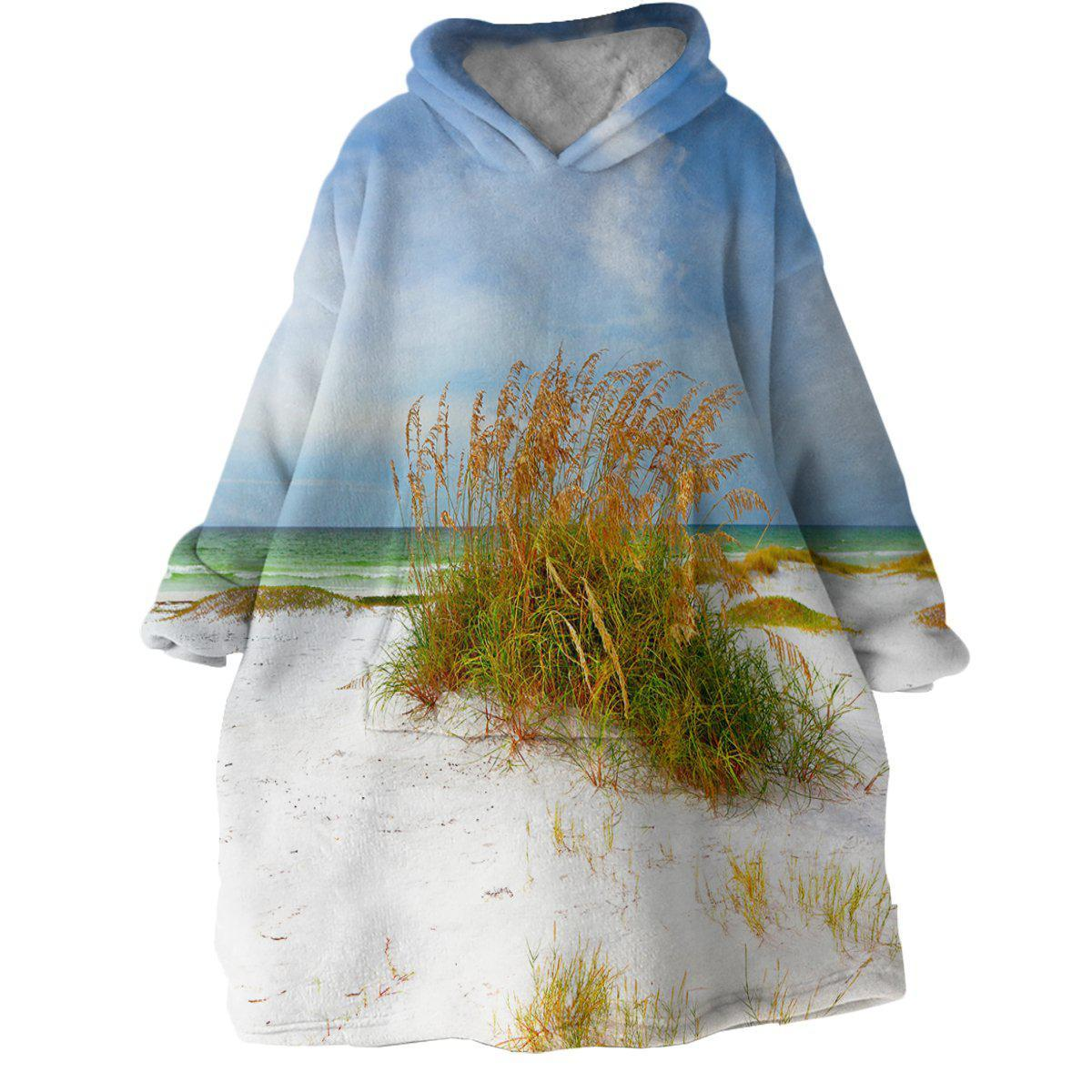 Florida Dreaming Wearable Blanket Hoodie-Coastal Passion