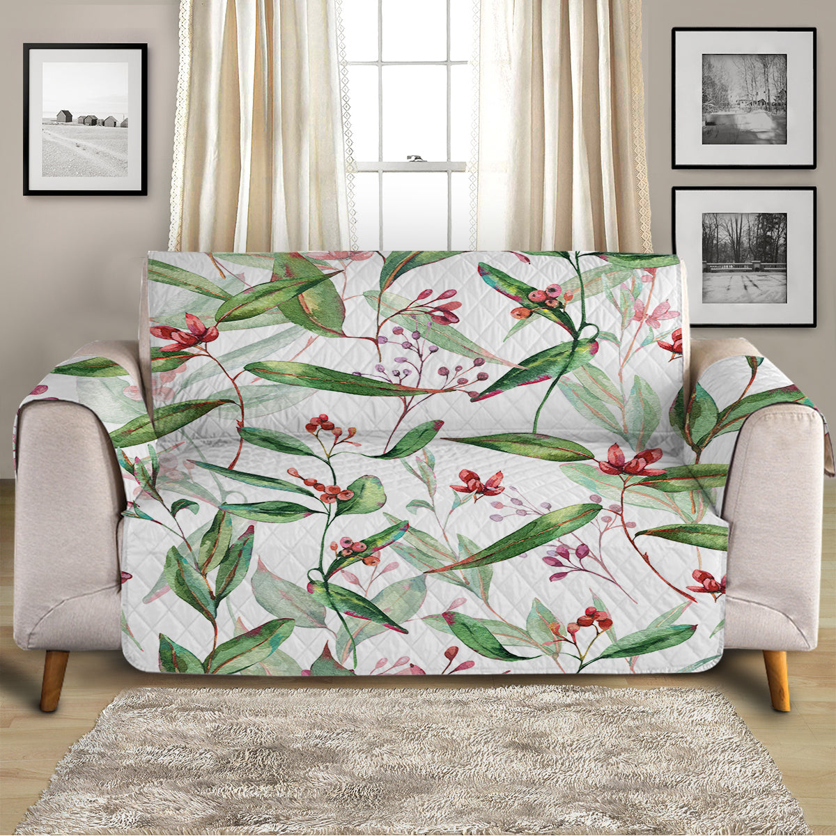Tropical Delight Sofa Cover