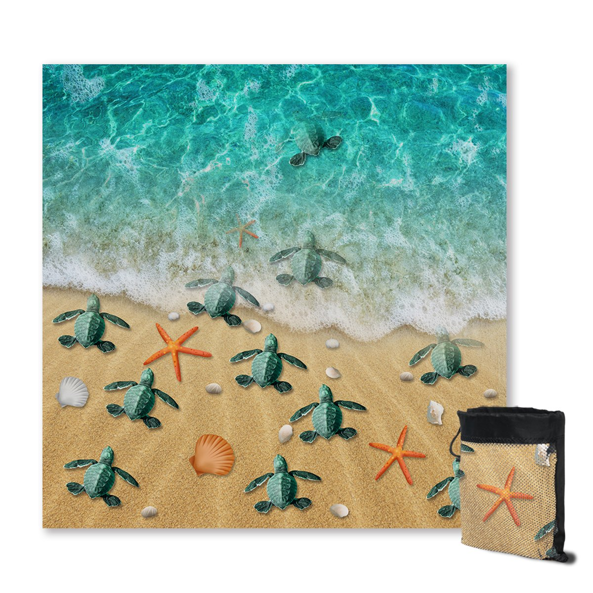 Happy Hatchlings Sand Free Towel