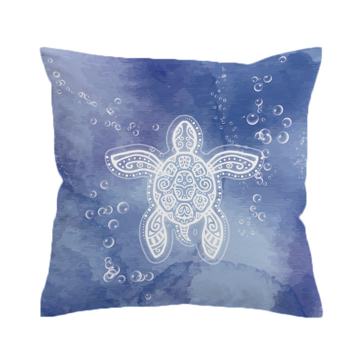 Honu Healing Pillow Cover-Coastal Passion