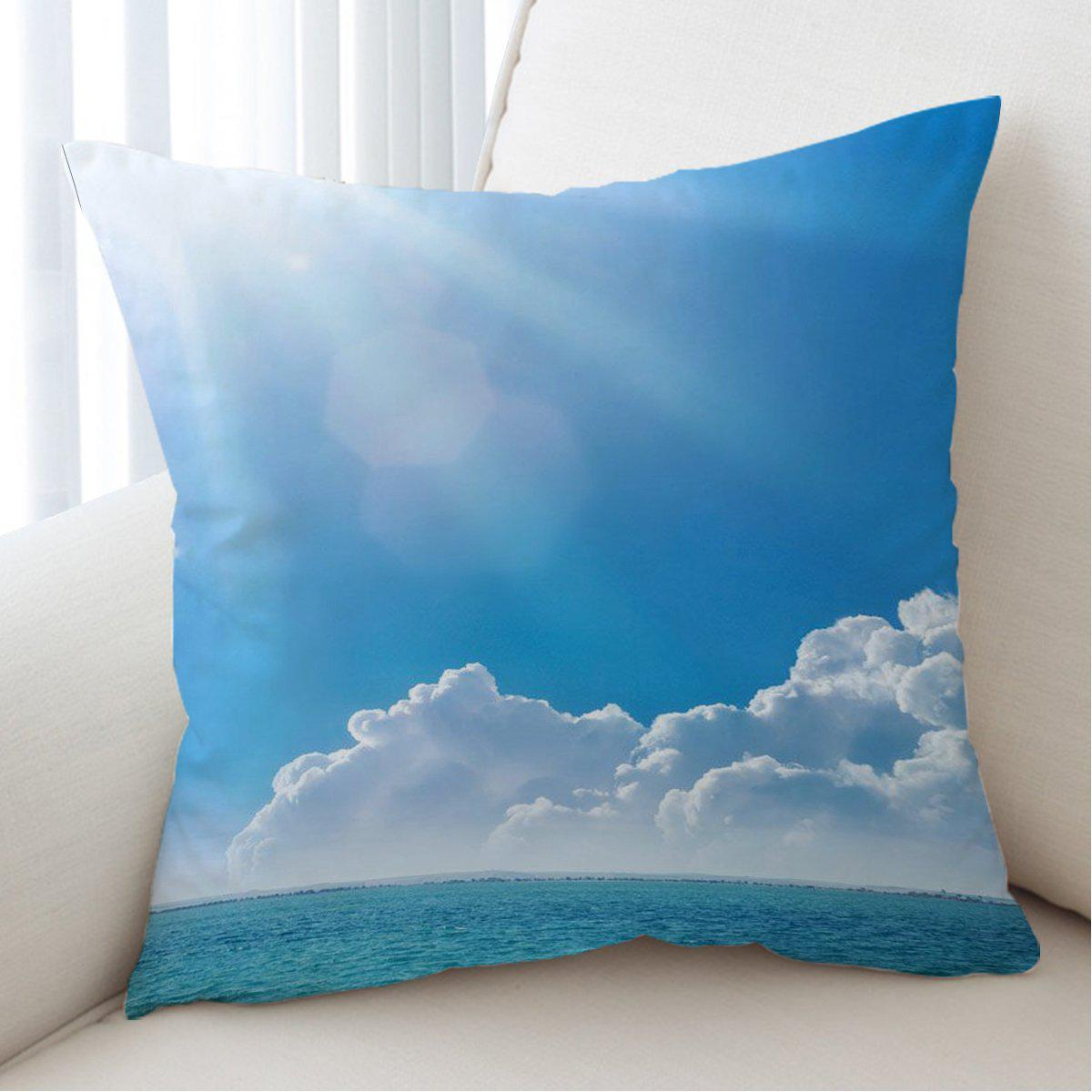 Into the Blue Pillow Cover-Coastal Passion