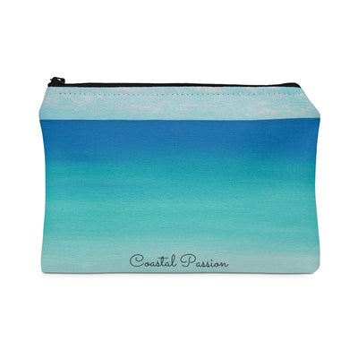 Life is Short Carry All Pouch-Bags-Small-Coastal Passion