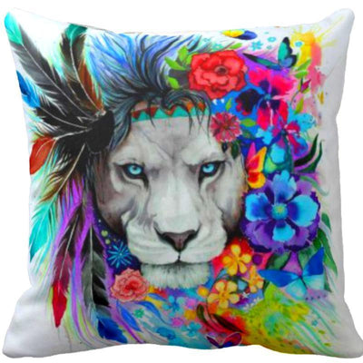 Lion Vibes Pillow Cover Set--Coastal Passion