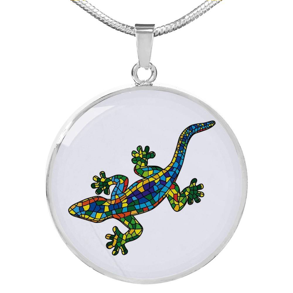 Lucky Gecko Necklace-Coastal Passion