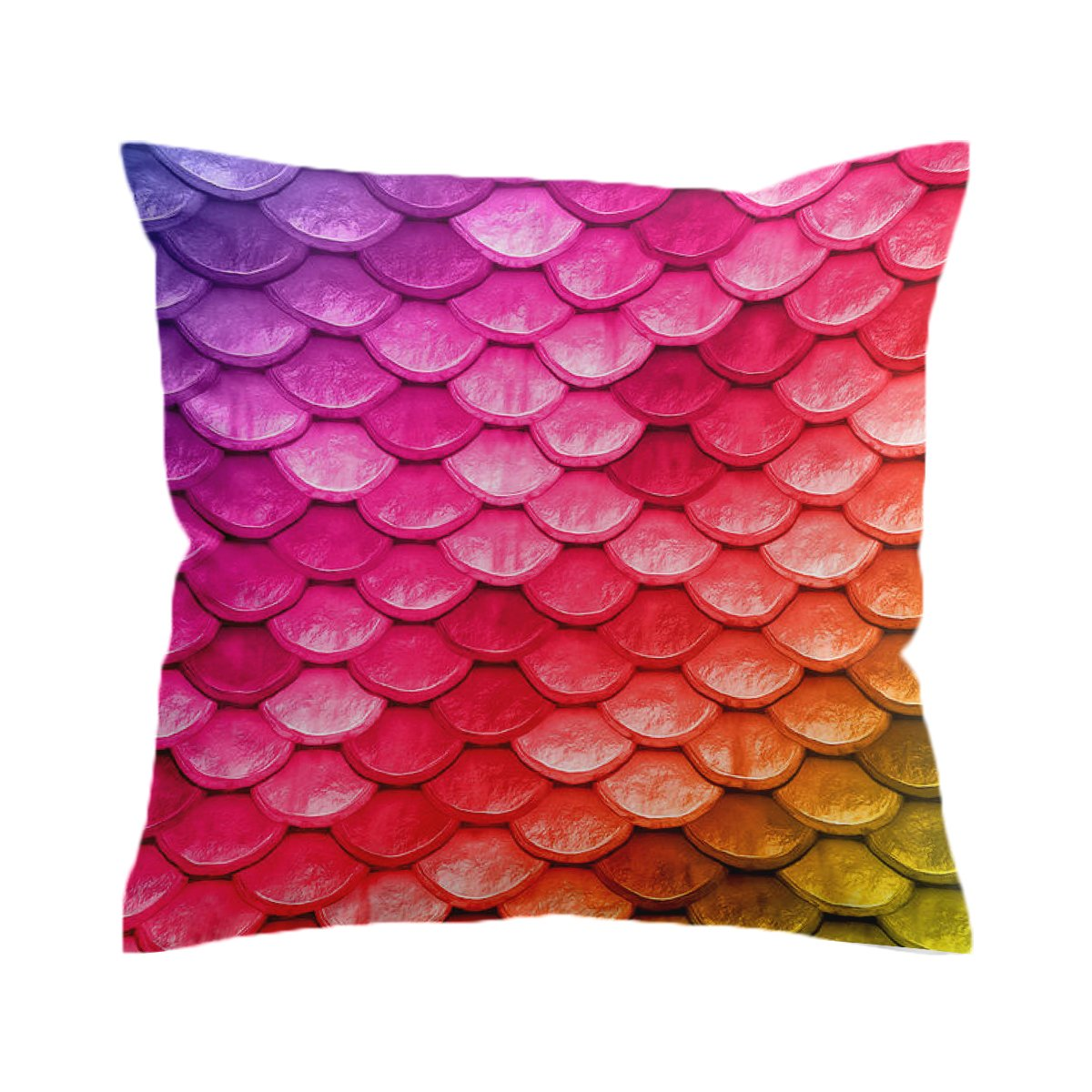 Mermaid Scales Pillow Cover-Coastal Passion