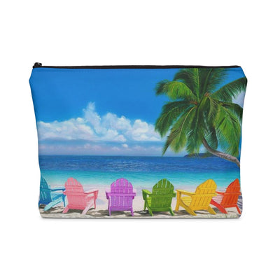 My Happy Place Carry All Pouch-Bags-Coastal Passion