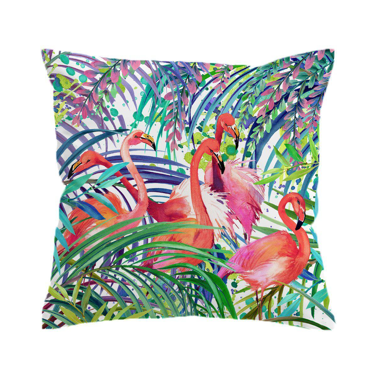 New Flamingo Passion Pillow Cover-Coastal Passion