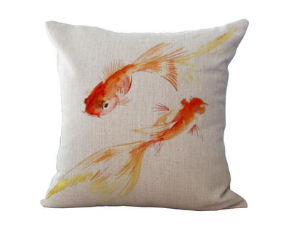 Ocean Art Collection-Pillow Cover-Fish-Coastal Passion
