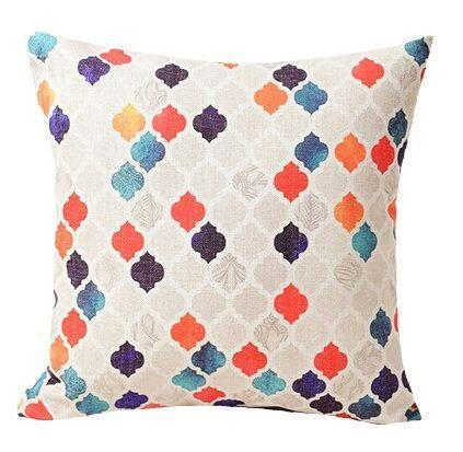 Ocean Palette Pillow Cover-Pillow Cover-Coastal Passion