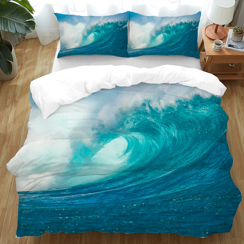 Ocean Wave Bedding Set