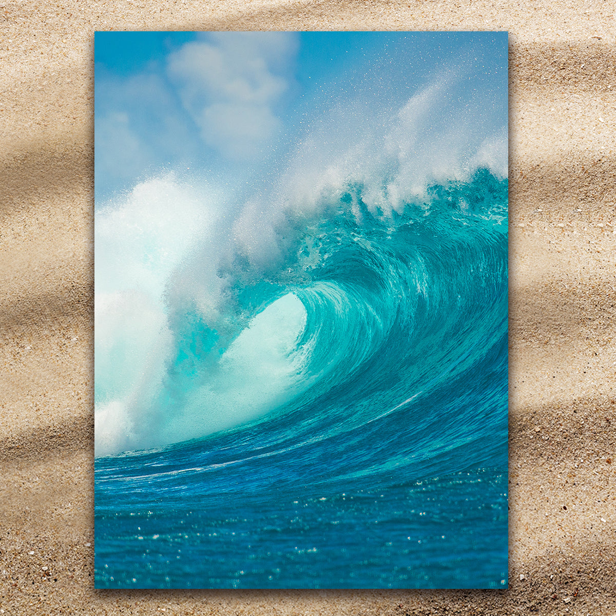 Ocean Wave Extra Large Towel