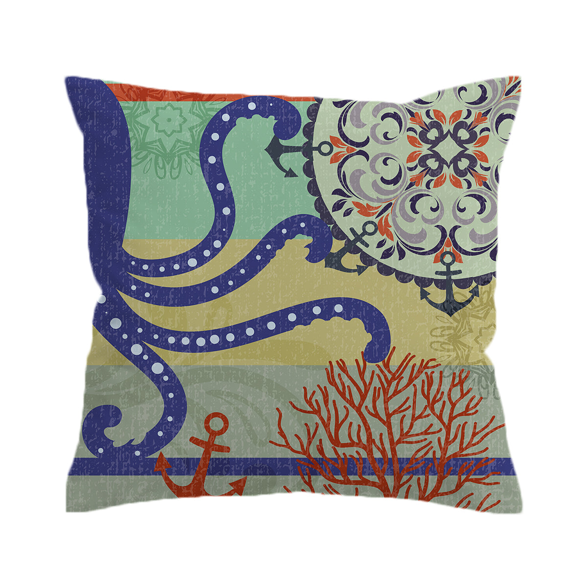 Octopus Passion Pillow Cover
