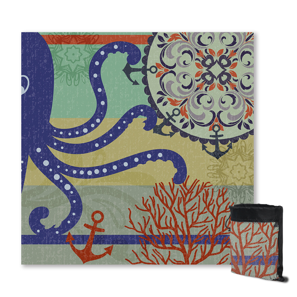 Octopus Passion Sand Free Towel