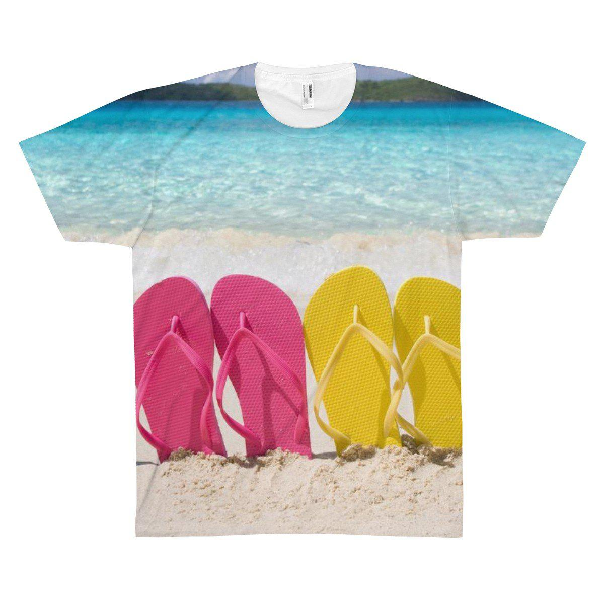 On The Beach Tee-All Over Prints-XS-Coastal Passion