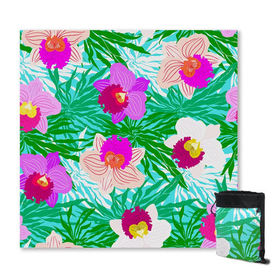 Sand Free Beach Towel-Orchid Passion Sand Free Towel-Coastal Passion