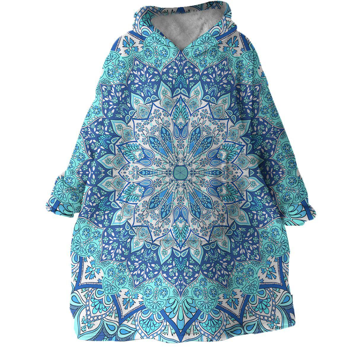 Pandawa Beach Wearable Blanket Hoodie-Coastal Passion
