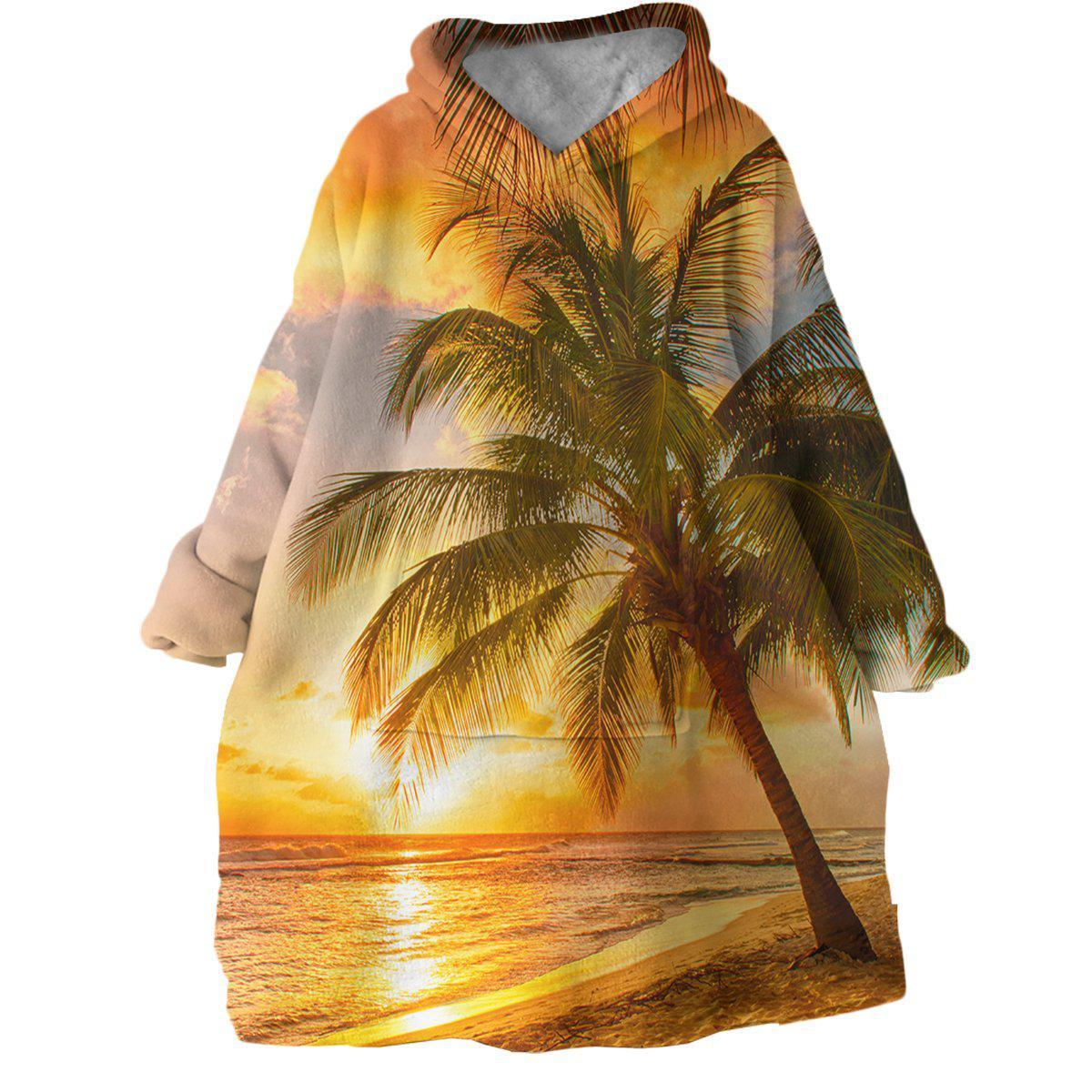Paradaiso Wearable Blanket Hoodie-Coastal Passion