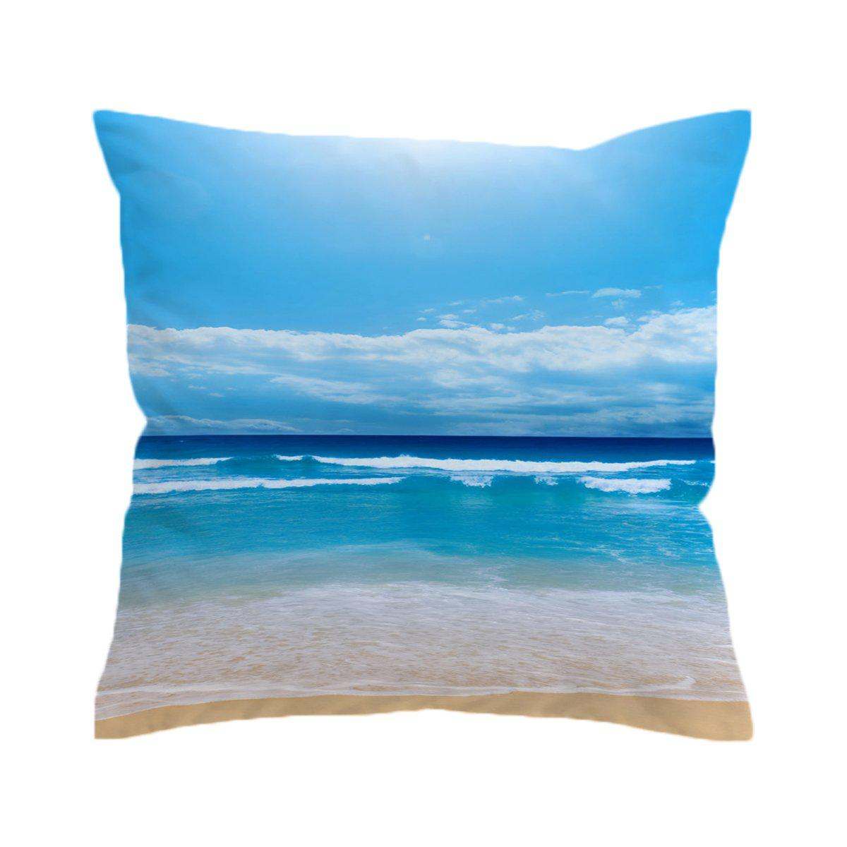 Peace of the Beach Pillow Cover-Coastal Passion