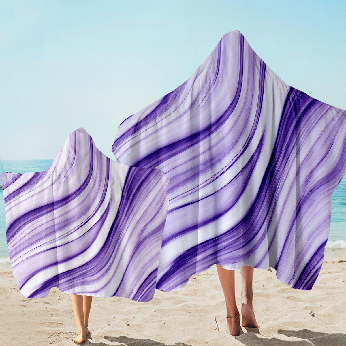 Pfeiffer Beach Hooded Towel