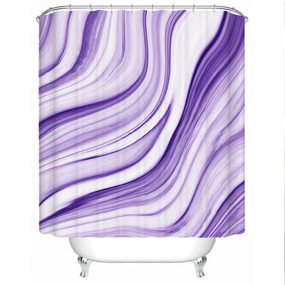 Shower Curtain-Pfeiffer Beach Shower Curtain-Coastal Passion