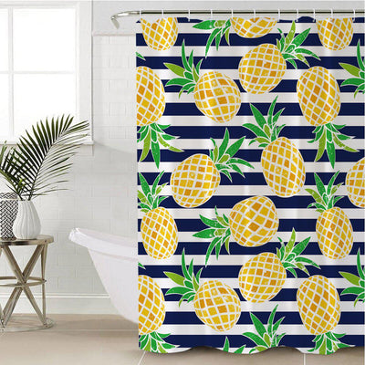 Pina Cabana Shower Curtain-Coastal Passion