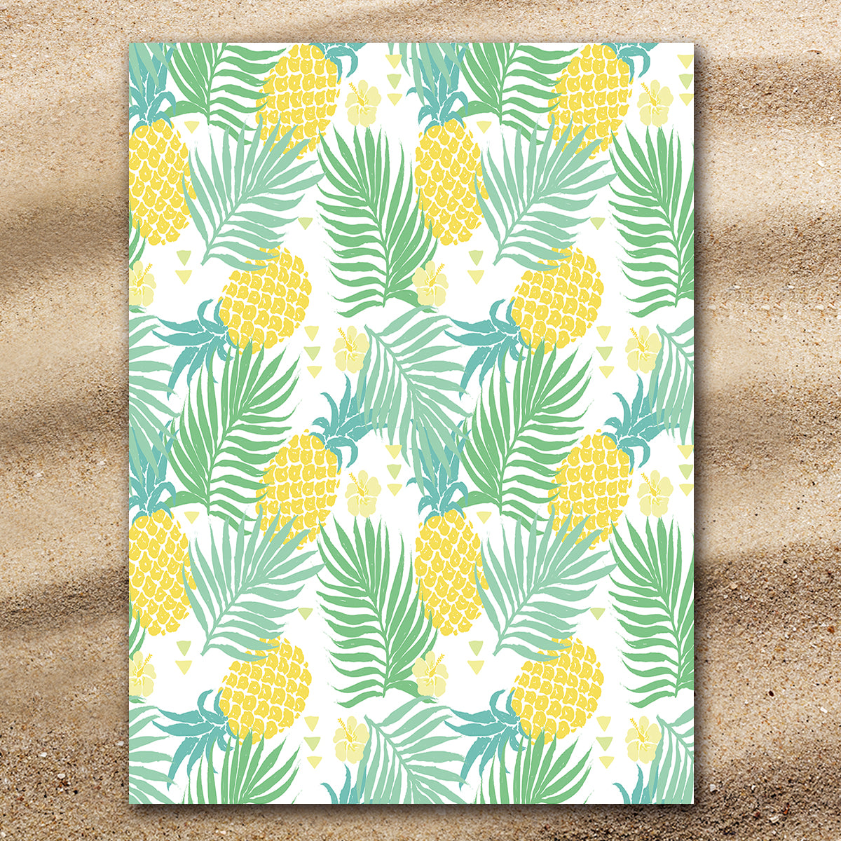 Pineapple Delight Extra Large Towel